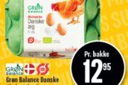 Grøn Balance Danske Økologiske Æg