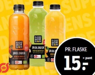 Rynkeby God Morgen økologisk juice