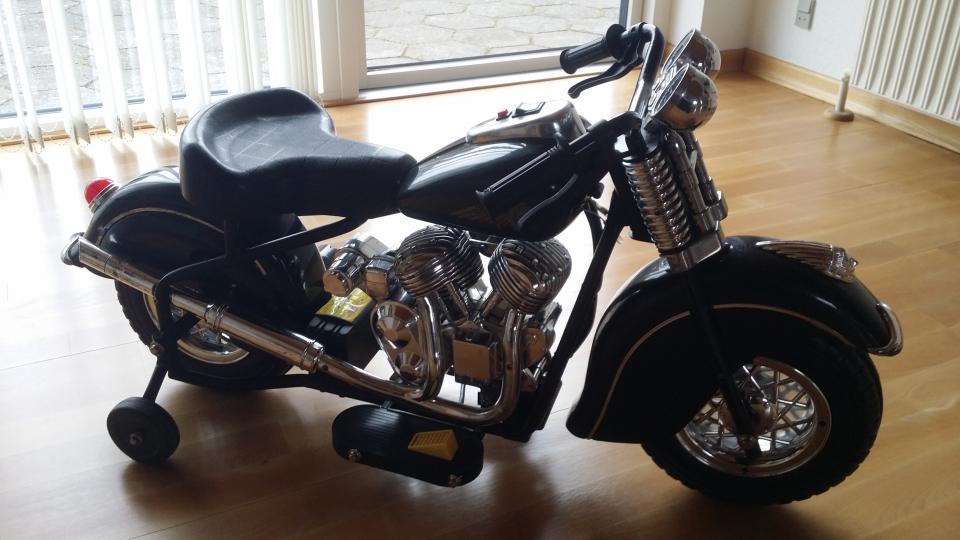 Børne veteran motorcykel