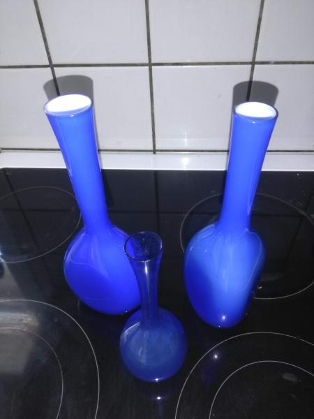Tre små vaser