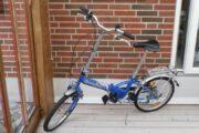 Foldbar cykel