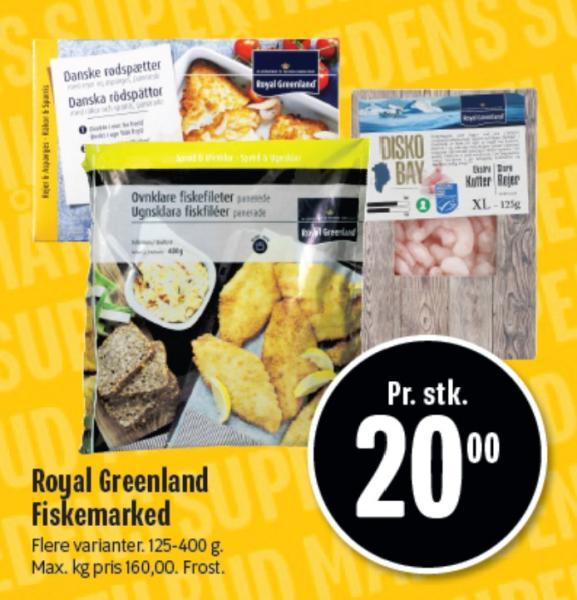 Royal Greenland Fiskemarked