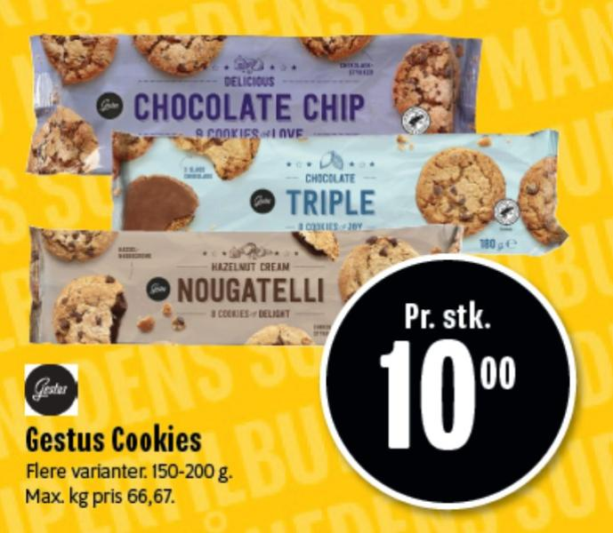 Gestus Cookies