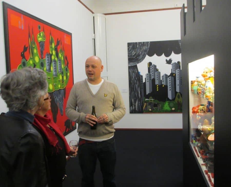Frodo Mikkelsen på Skive Kunstmuseum