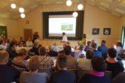 Over 100 til borgermøde i Thise