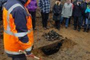 Interessant og lærerig arkæologisk rundvisning ved Thise Mejeri