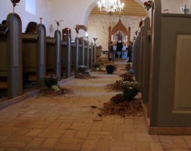 Høsten i kirken – en tradition under ændring.