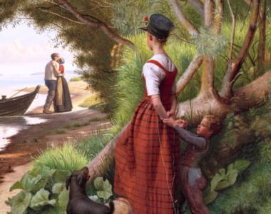 Maleri af Christen Dalsgaard til MUSEUM SALLINGs kunstsamling