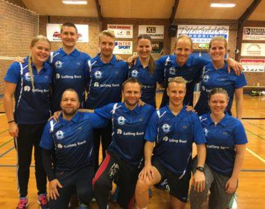 Team Salling/Sabro fortsætter i 3 division