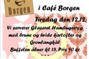 Tirsdagscafé i Café Borgen