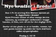 Overdragelse af værksted i Brodal