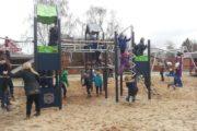 Børnene er vilde med de nye legepladser på Durup Skole