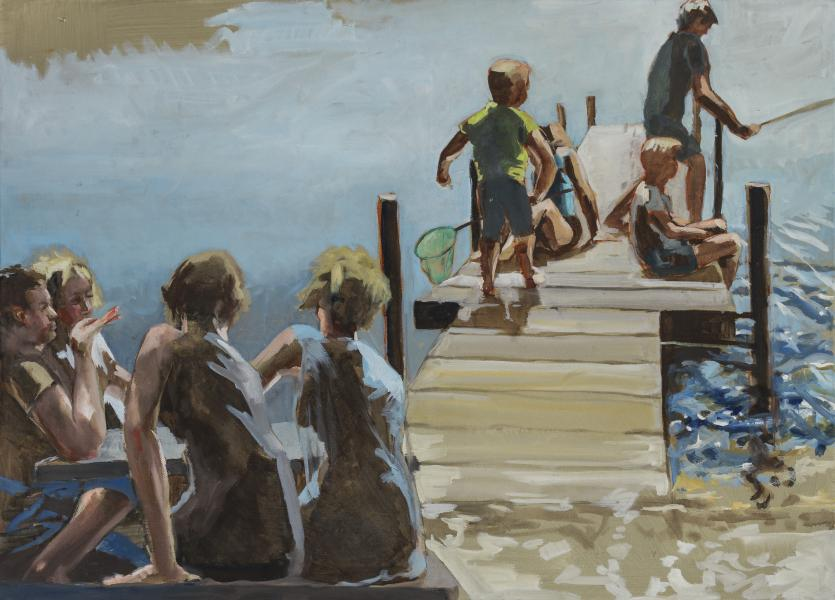 Friluftsmaleri i Salling – Glyngøre plein air 2019