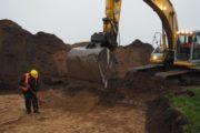 Rundvisning på udgravningen ved Thise Mejeri