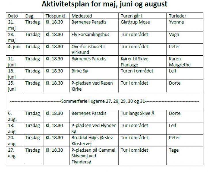 Spændende sommerprogram for Fodslaw