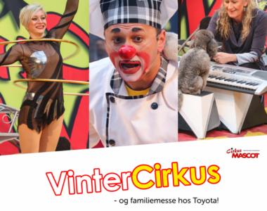 Gratis cirkus hos MTH Biler