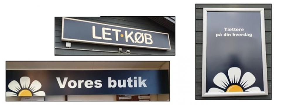 Thise Købmand viser vejen