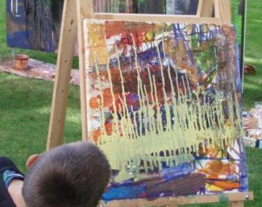 3 dage med maleri på skive museum