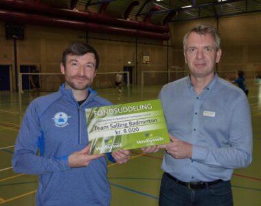 Team Salling Badminton i gang igen efter Corona pause.